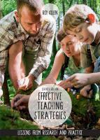 Effective teaching strategies by roy killen